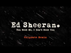 Ed Sheeran - You Need Me, I Don't Need You (Culprate Remix) Out Now