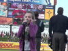 Sabrina Carpenter - National Anthem - IronPigs baseball