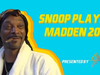 Snoop Dogg Plays Madden 20 | HIGHLIGHTS | GANGSTA GAMING LEAGUE VII presented by The Savage