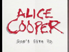 BE A PART OF ALICE COOPER'S NEW