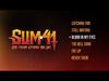 Sum 41 - Blood In My Eyes (Live from Studio Mr. Biz)