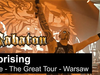 SABATON - Uprising (Live - The Great Tour - Warsaw)