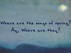 Marianne Faithfull - To Autumn (Lyrics Video)